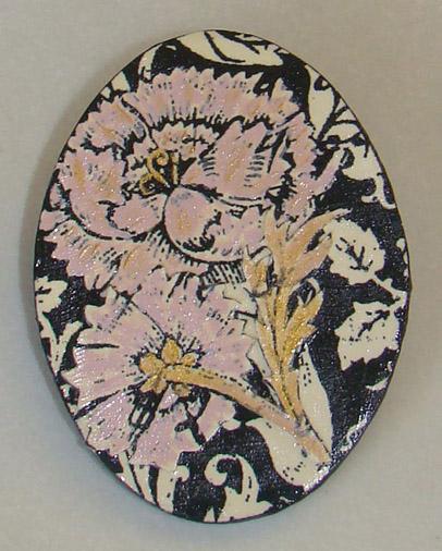 Brooch 'Dianthus'